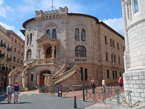Courthouse in the Principality of Monaco