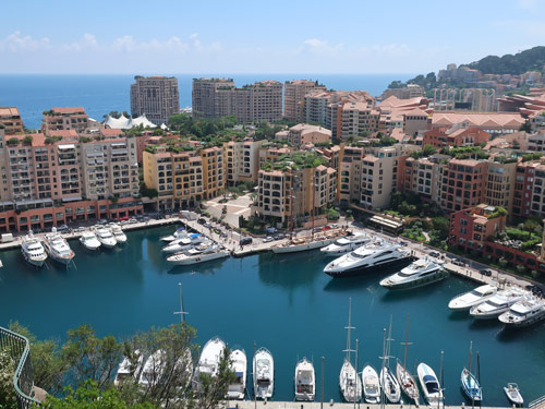 Fontvieille District of Monaco