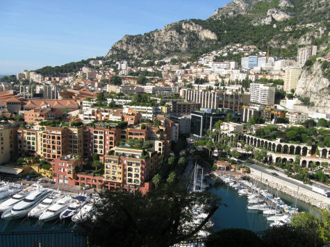 La Colle District of Monaco